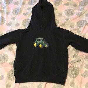 Custom embroidered John Deere Hoodie